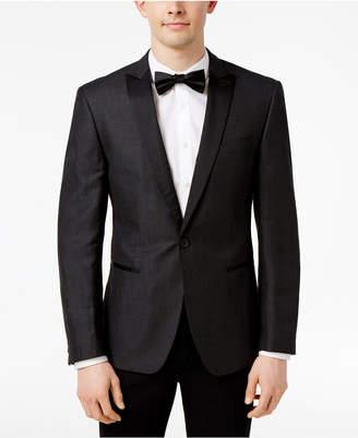 Calvin Klein Men's Slim-Fit Peak Lapel Dinner Jacket $325 thestylecure.com