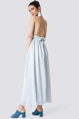 Schanna X Na Kd Low Back Maxi Dress