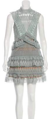 Self-Portrait Layered Mini Dress