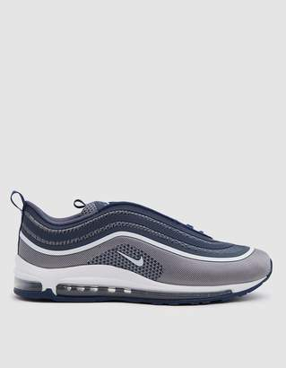 Nike Air Max 97 UL '17 Shoe in Navy/White Navy Light Ca