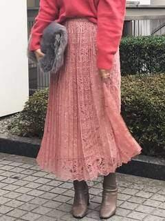 MERCURYDUO (マーキュリーデュオ) - プリーツレーススカート