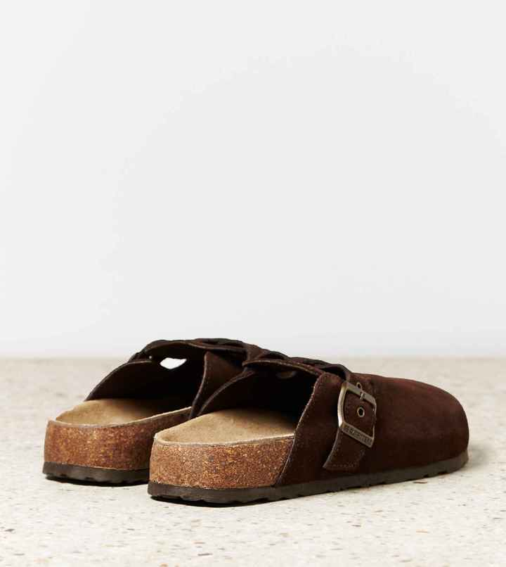 AEO Buckled Suede Clog 2