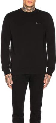 Givenchy Logo Panel Sweatshirt in Black   FWRD