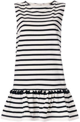 Marc Jacobs striped pompom dress