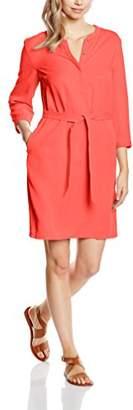 S'Oliver Women's Mit Bindegürtel Dress,(34 EU)