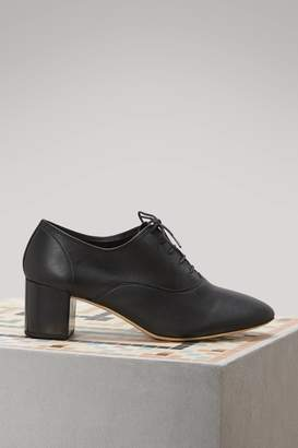 Repetto Fado brogues with heels