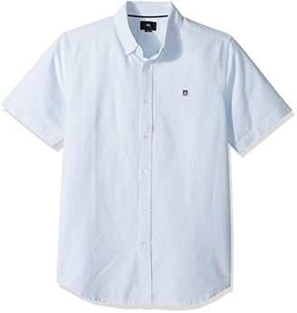Obey Men's Eighty Nine Stripes Short Sleeve Shirt