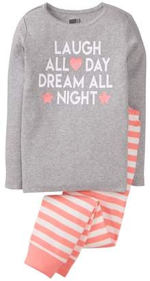 Crazy 8 Laugh 2-Piece Pajama Set