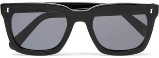 Cubitts Judd Square-Frame Acetate Sunglasses