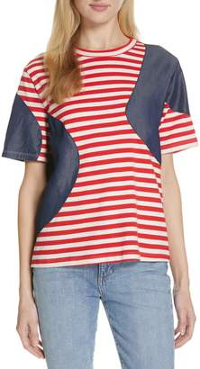 b930558f209a Mixed Media Shirt - ShopStyle