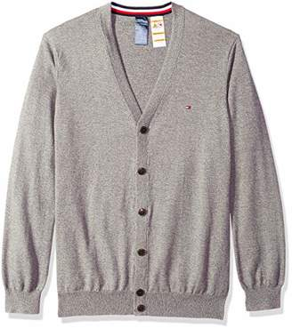 Tommy Hilfiger Adaptive Men's Cardigan Sweater with Magnetic Buttons
