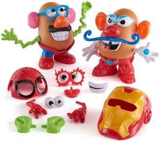 Playskool Mr. Potato Head Marvel Spider-Man vs. Iron Man Set