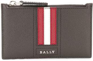 Bally Tenley striped zipped coin pouch