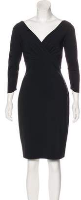 Chiara Boni Knee-Length Ruched Dress