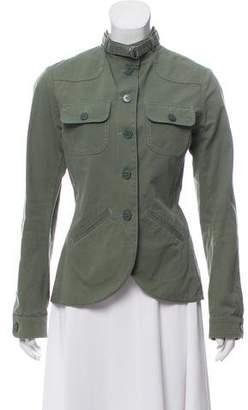 agnès b. Mock Neck Casual Jacket