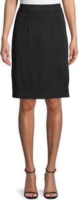 Misook Petite Straight Knee-Length Skirt