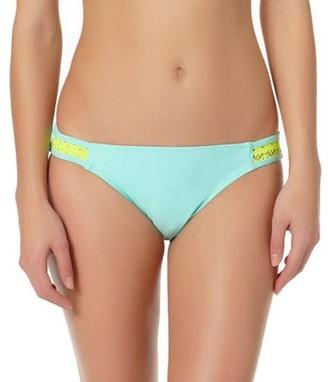 No Boundaries Juniors' Crochet Scoop Bikini Swimsuit Bottom