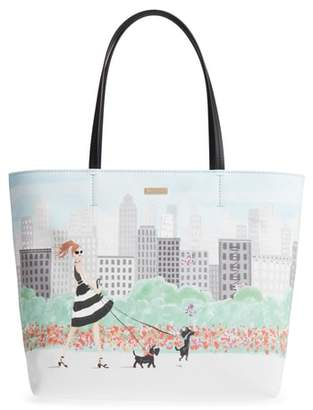 Kate Spade Mom Knows Best Canvas Tote