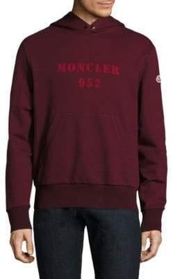 Moncler Maglia Logo Cotton Hoodie