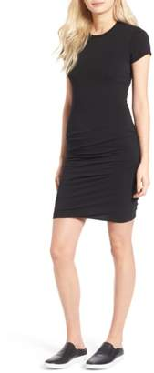James Perse Short Sleeve Skinny Dress