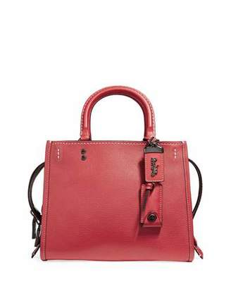 Coach 1941 Rogue 25 Pebbled Leather Tote Bag