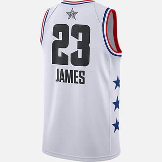 Nike Men s Jordan Los Angeles Lakers LeBron James NBA All-Star Weekend 2019 Swingman  Jersey e6c4affa5