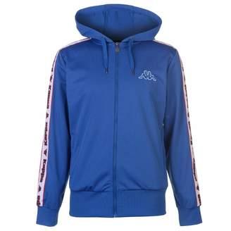 Kappa Tri Full Zip Hoody Jacket Mens Hoodie Sweatshirt Sweater Hooded Top