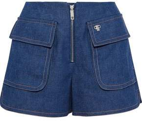Emilio Pucci Zip-Detailed Denim Shorts