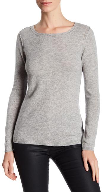 In Cashmere Cashmere Open-Stitch Pullover Sweater