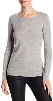In Cashmere Cashmere Open-Stitch Pullover Sweater $188 thestylecure.com