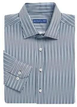 Etro Asymmetric Stripe Dress Shirt