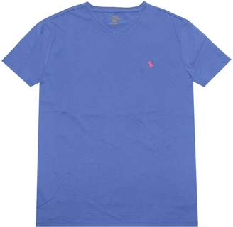 Polo Ralph Lauren Men's T-shirt V-neck 2016 model (, Blue)