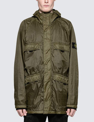 Stone Island Lamy Flock Field Jacket