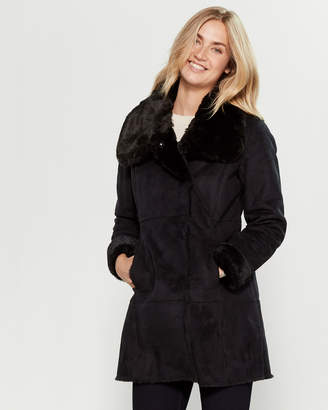 Lauren Ralph Lauren Faux Shearling Coat