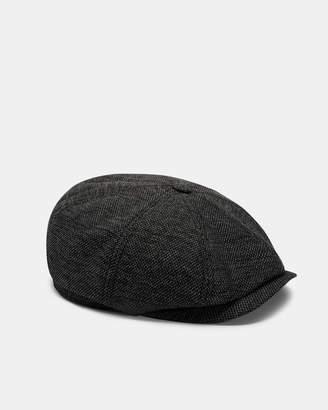 59d49d8bcf22 Ted Baker TREACLE Textured Baker boy hat