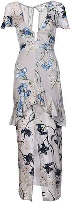 For Love & Lemons Cleo Floral Maxi Dress