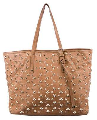 Jimmy Choo Star-Studded Sasha Tote