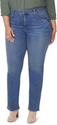 NYDJ Marilyn Uplift Straight Leg Jeans