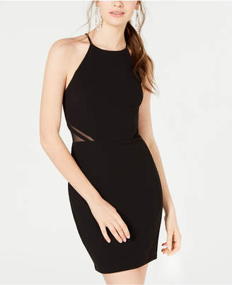 d903a45f485 B. Darlin Juniors  Illusion-Side Bodycon Dress