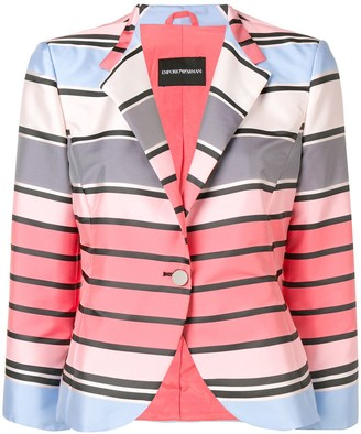 Emporio Armani classic single-breasted blazer