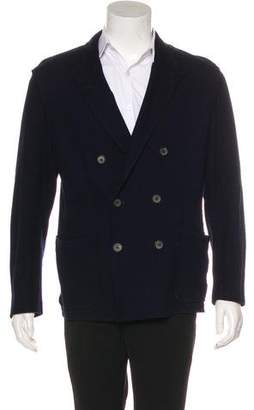 Lanvin Knit Double-Breasted Sport Coat