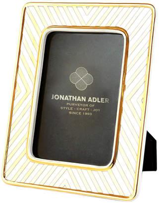 Jonathan Adler 4X6 Futura X-Line Porcelain Frame