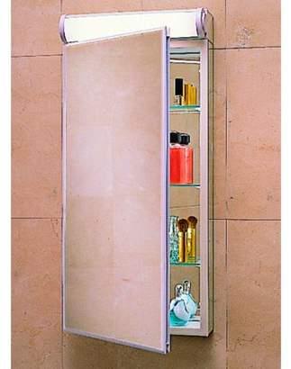 "Robern PLM2430WB 23 1/4"" Reversible Hinged Single Door Mirrored Medicine Cabinet"