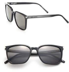 Saint Laurent SL 93 Thin Square Sunglasses