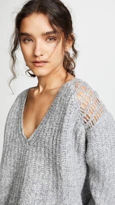 Iro . Jeans IRO.JEANS Miller Chunky V Neck Sweater