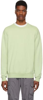 John Elliott Green Vintage Crewneck Sweatshirt