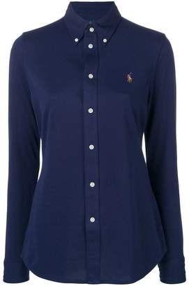 Polo Ralph Lauren logo fitted shirt
