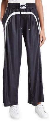 Koral Activewear Loop Wide-Leg Drawstring Pants