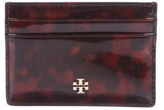 Tory Burch Patent Leather Print Card Holder