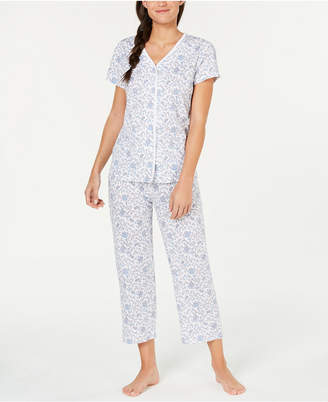 Charter Club Cotton Soft Knit Pajama Set 491262ca7